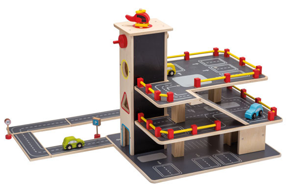 Houten Garage Speelgoed : Hape park and go garage speelgoedgarage be